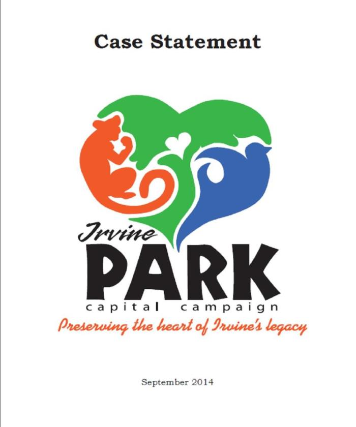 Case Statement Cover Page