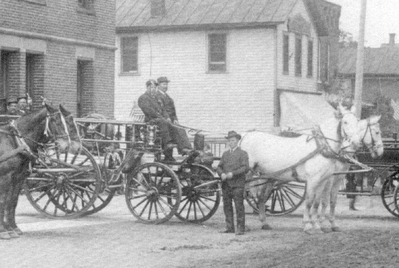 CIRCA 1883 THE ACTIVE HOOK AND LADDER COMPANY #1