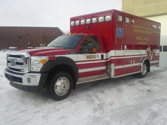Medic 1 - 2003 Ford-Road Rescue