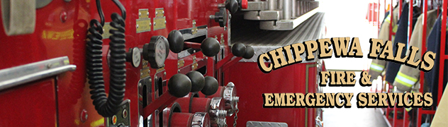 Side of Fire Truck Banner