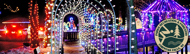 Christmas Village Tunnel Banner