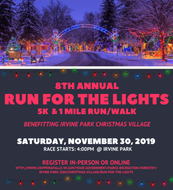 2019 Run for the Lights Flyer