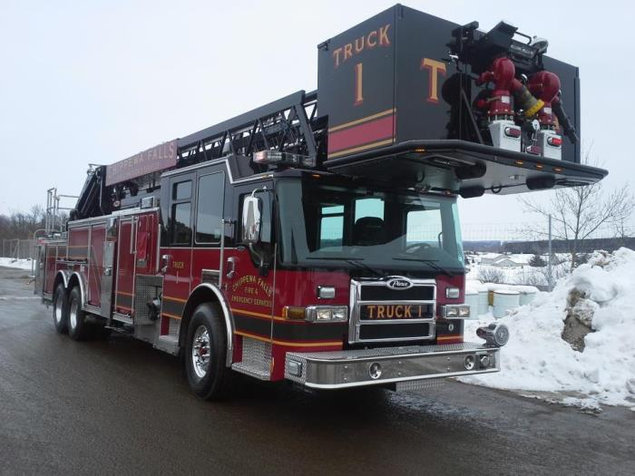 Truck 1 - 2014 Pierce/Darley 100 Foot Platform