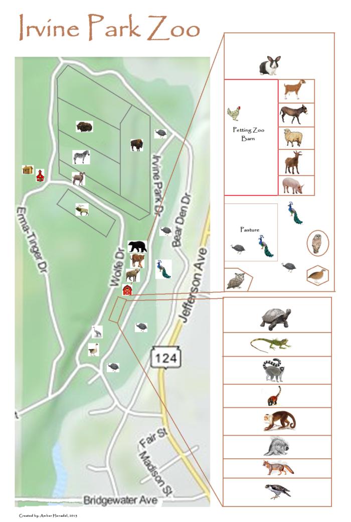 Map of Zoo | City of Chippewa Falls, WI